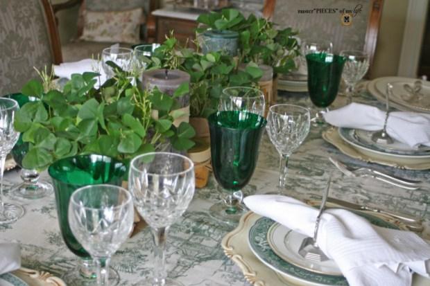 St Patricks celebaration tablescape5