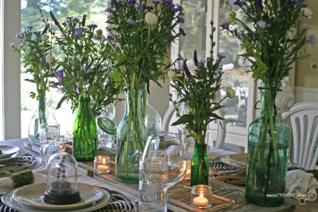 Spring vibes tablescape1