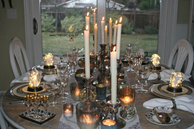Dazzingly bright new years eve tablescape3