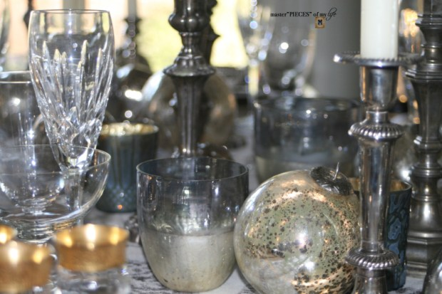 Dazzingly bright new years eve tablescape6
