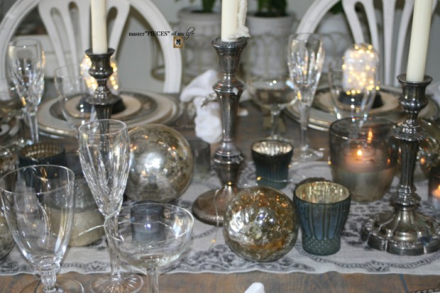 Dazzingly bright new years eve tablescape11