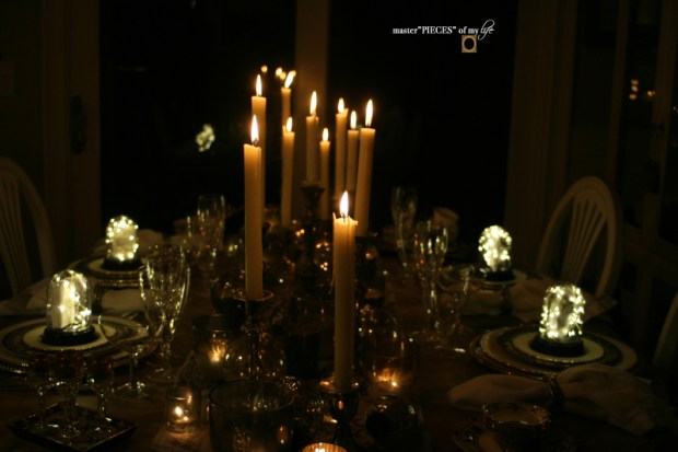 Dazzingly bright new years eve tablescape12