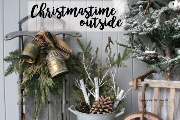 Christmastime outside