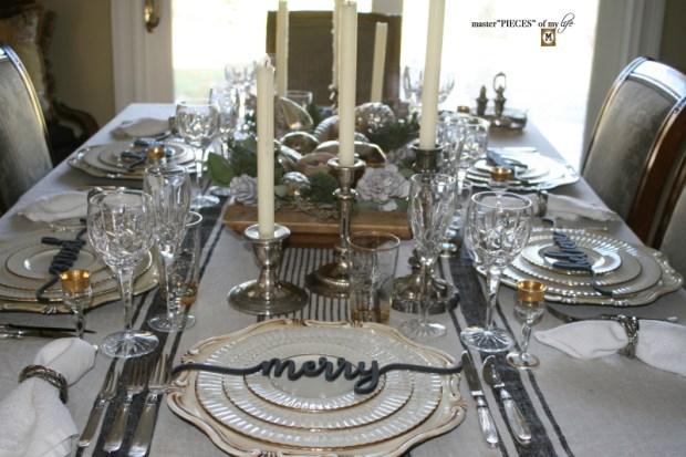 Sentiment Christmas tablescape1