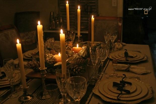 Sentiment Christmas tablescape13