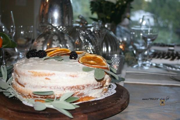 On the menu - orange  naked cake8