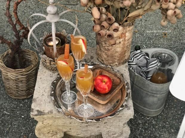 Apple cider mimosa 1