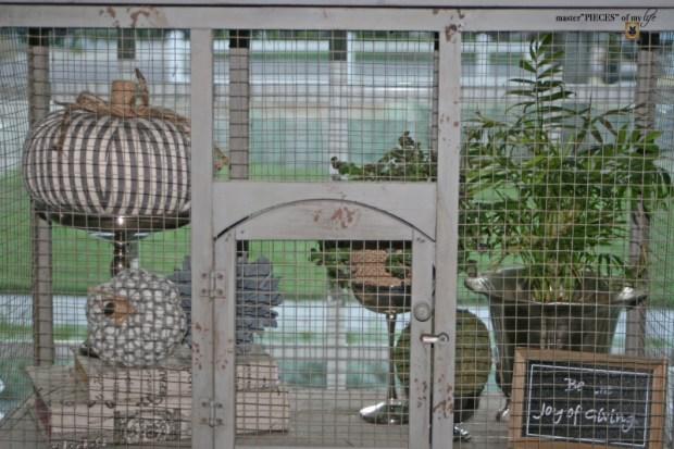 Thru the seasons - ornamental birdcage 2