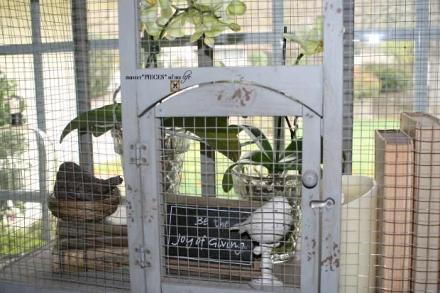Thru the seasons - ornamental birdcage 11