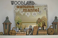 Woodland mantel1