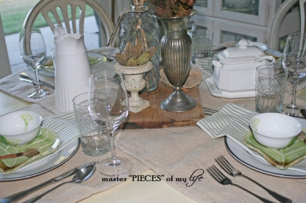 Late summer early fall tablescape5