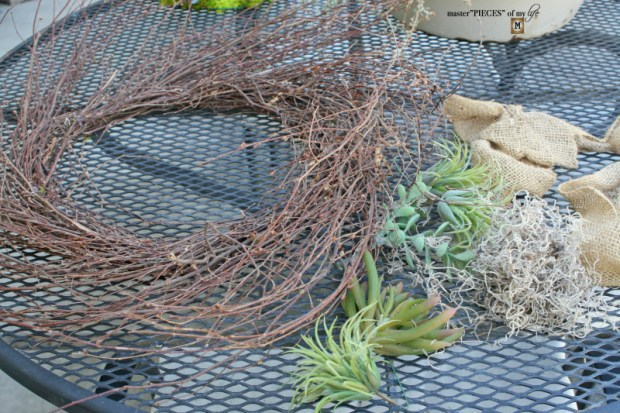 Reindeer moss wreath 3