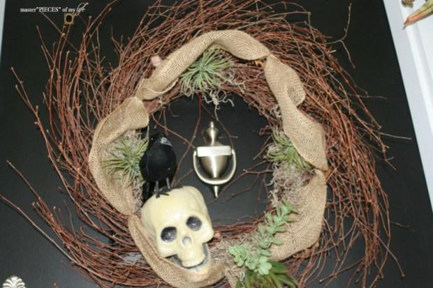 Reindeer moss wreath 7