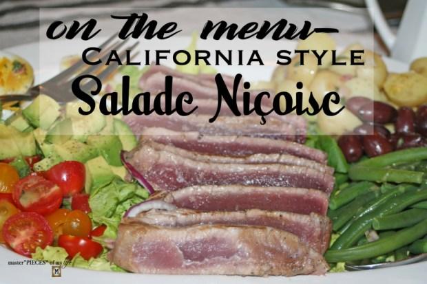 CA style nicoise salad