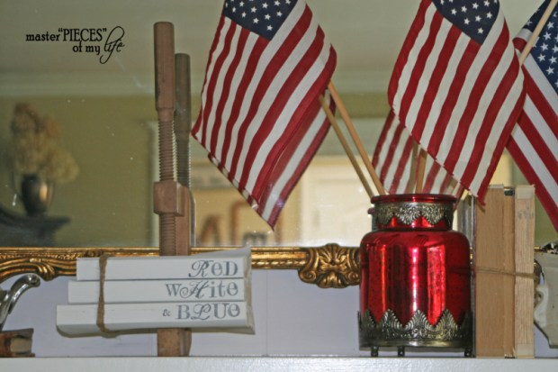 Patriotic decorating detail 7