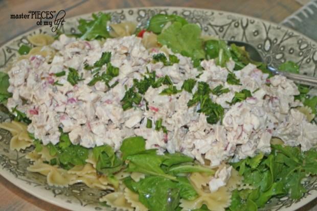 On tthe menu-3 layer salad 3