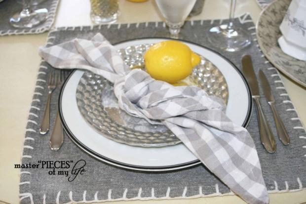 Lemon inspired tablescape4