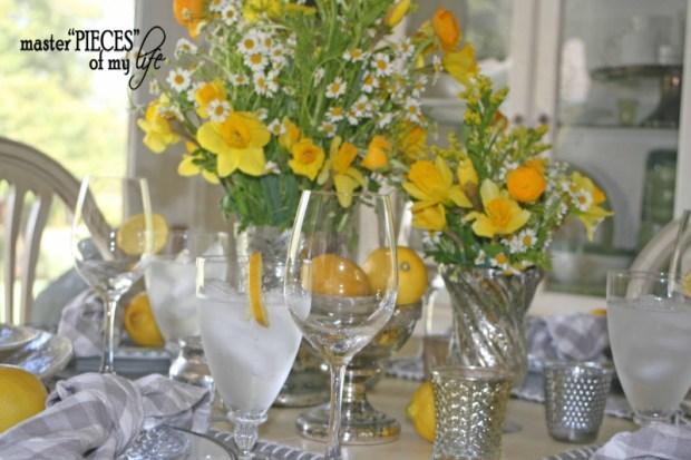 Lemon inspired tablescape5