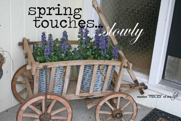 Spring touches