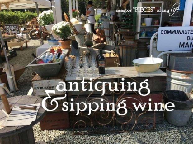 Antiquing & wine