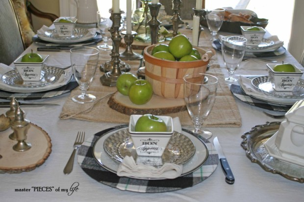 Green apple tablescape1