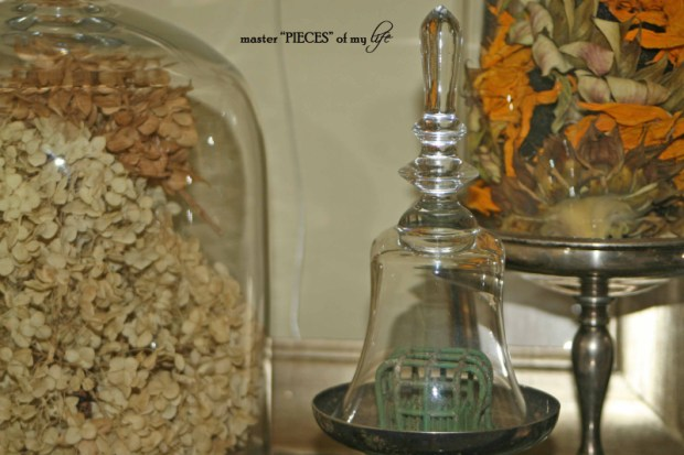 Cloches & dried flowers12