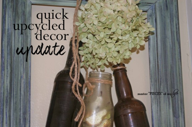 Quick upcycled decor update1
