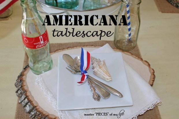 Americana tablescape 1
