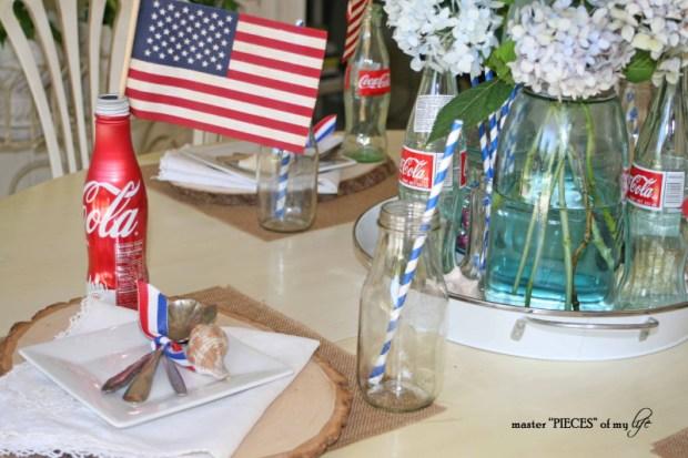Americana tablescape 2