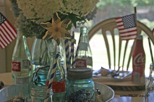 Americana tablescape 7