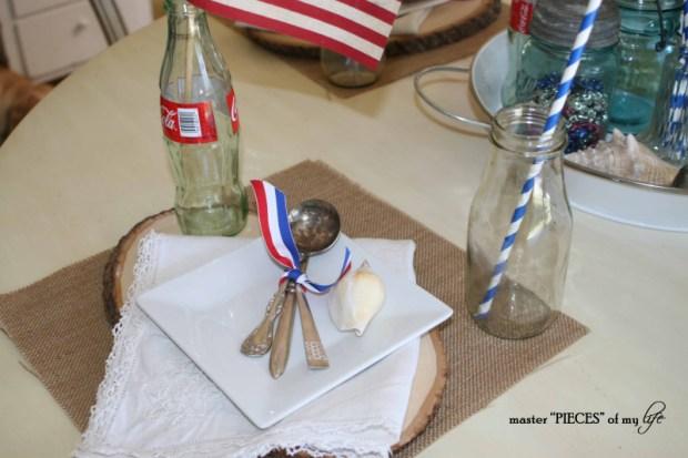 Americana tablescape 8