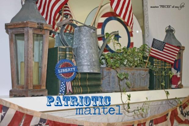 Patriotic mantel 1