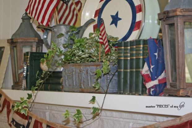 Patriotic mantel 4