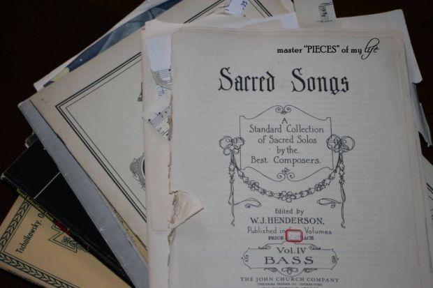 Sheet music 2