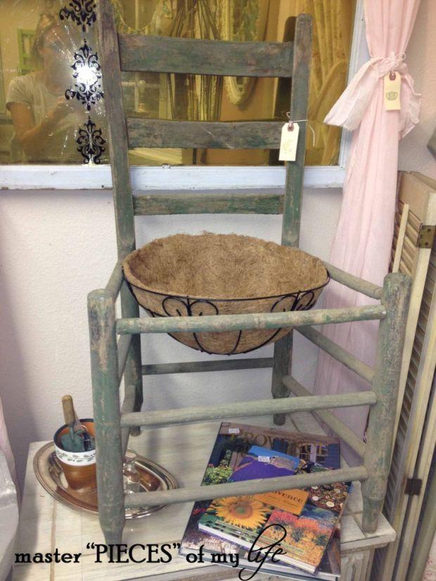 Chair planter 1