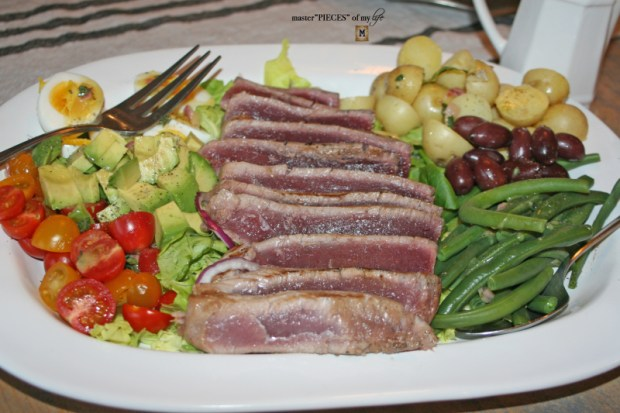 CA style nicoise salad 4