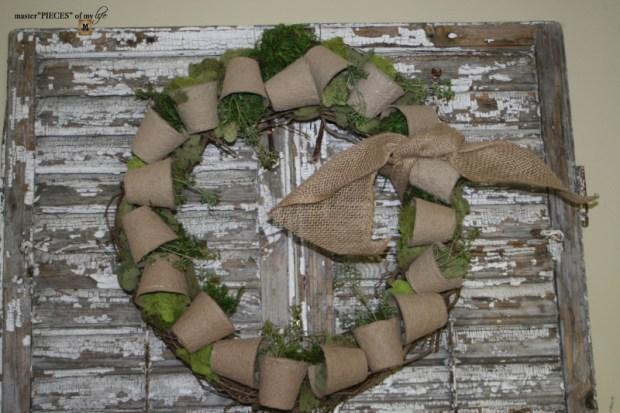 Spring grower pot wreath 7