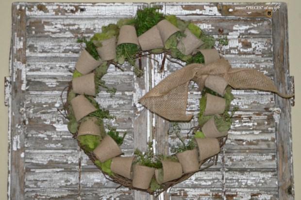 Spring grower pot wreath 12