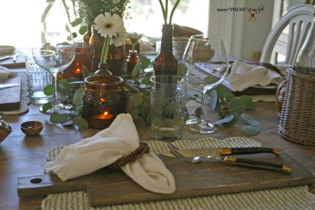 Rustic casual summer tablescape3