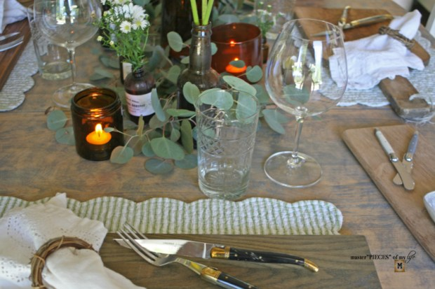 Rustic casual summer tablescape8