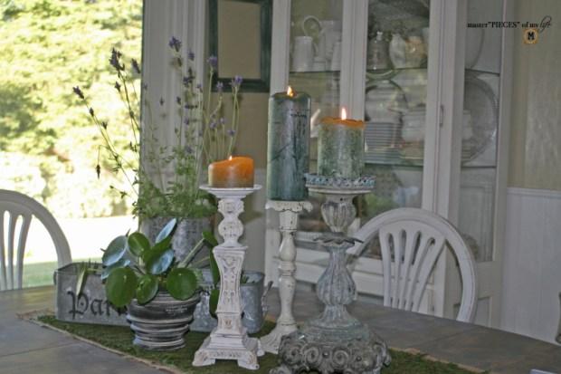 Faux cast iron candlestick10