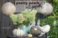 Pretty perch in tthe garden