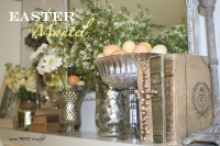 Easter mantel1