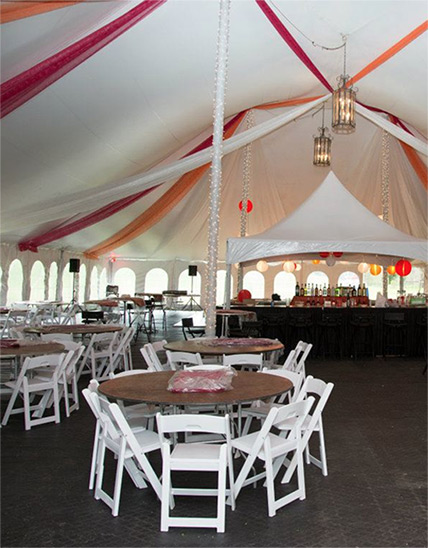 table and chair rentals office chairs cheap party tent elkins wv masterpiece provides for parties in