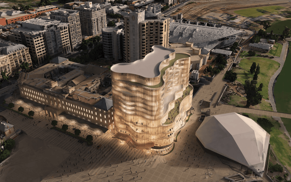 MasterPlan project skycity casino Adelaide