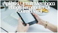 Aplikasi Untuk Membaca eBook