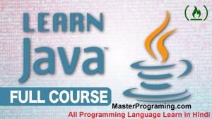 Java programming Full course hindi