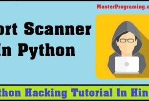 Python Port Scanner In Hindi