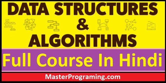 Data Structure And Algorithms