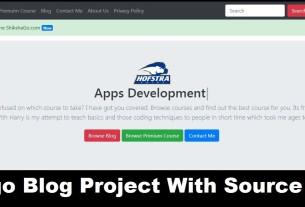 Django Blog Project in Hindi